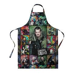 Фартук кулинарный Suicide Squad: Rick Flag цвета 3D — фото 1