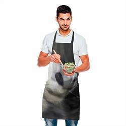 Фартук кулинарный Панда с веткой цвета 3D — фото 2