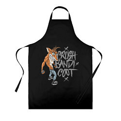 Фартук кулинарный Crush Bandicoot цвета 3D — фото 1