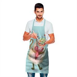 Фартук кулинарный Котик цвета 3D — фото 2