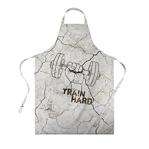 Фартук Train hard / 3D – фото 1