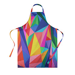 Фартук кулинарный Радуга цвета 3D — фото 1