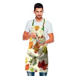 Фартук кулинарный Осень цвета 3D — фото 2