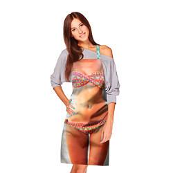 Фартук кулинарный Женское тело цвета 3D — фото 2