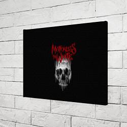 Холст прямоугольный MIW Skull цвета 3D-принт — фото 2