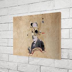 Холст прямоугольный Зигмунд Фрейд цвета 3D — фото 2