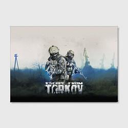 Холст прямоугольный Escape from Tarkov Z цвета 3D — фото 2