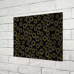 Холст прямоугольный Nirvana Pattern цвета 3D — фото 2