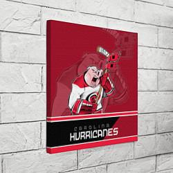 Холст квадратный Carolina Hurricanes цвета 3D-принт — фото 2