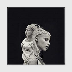 Холст квадратный Die Antwoord: Black Girl цвета 3D-принт — фото 2
