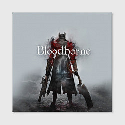 Холст квадратный Bloodborne: Hell Knight цвета 3D — фото 2