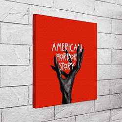 Холст квадратный Американская История Ужасов цвета 3D-принт — фото 2