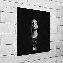 Холст квадратный Drake цвета 3D — фото 2