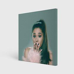 Холст квадратный Ariana Grande Ариана Гранде цвета 3D — фото 1