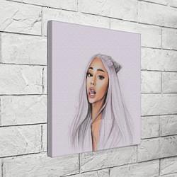 Холст квадратный Ariana Grande Ариана Гранде цвета 3D — фото 2