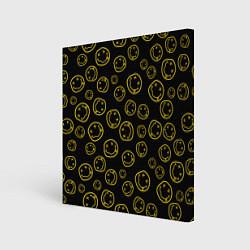 Холст квадратный Nirvana Pattern цвета 3D — фото 1