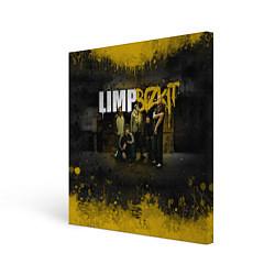 Холст квадратный Limp Bizkit: Gold Street цвета 3D-принт — фото 1