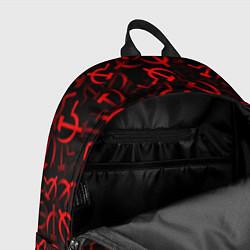 Рюкзак Серп и молот 2 цвета 3D-принт — фото 2