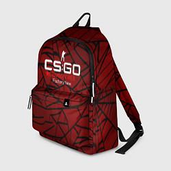 Рюкзак Cs:go - Crimson Web Style Factory New Кровавая пау цвета 3D — фото 1