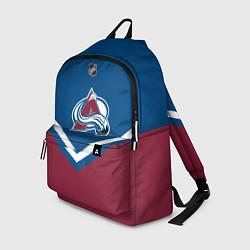 Рюкзак NHL: Colorado Avalanche цвета 3D-принт — фото 1