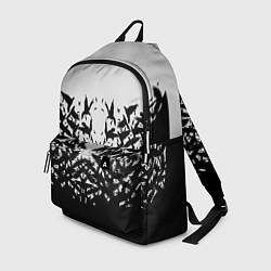 Рюкзак Птичий вихрь цвета 3D-принт — фото 1