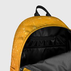 Рюкзак Bitcoin Orange цвета 3D — фото 2