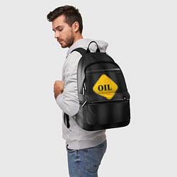 Рюкзак Oil цвета 3D-принт — фото 2