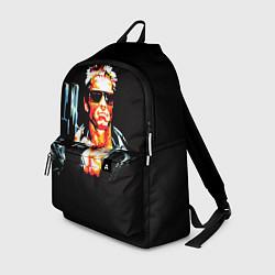 Рюкзак Terminator with a pistol цвета 3D-принт — фото 1