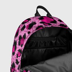Рюкзак Розовый леопард цвета 3D-принт — фото 2