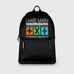 Рюкзак Ed Sheeran: I hate math цвета 3D — фото 2