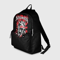Рюкзак Stigmata Skull цвета 3D-принт — фото 1