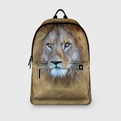Рюкзак Песчаный лев цвета 3D-принт — фото 2