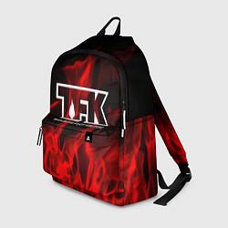 Рюкзак Thousand Foot Krutch: Red Flame цвета 3D — фото 1