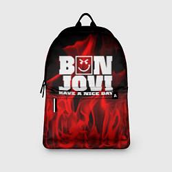 Рюкзак Bon Jovi: Have a nice day цвета 3D — фото 2