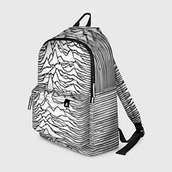 Рюкзак White Pleasures цвета 3D-принт — фото 1