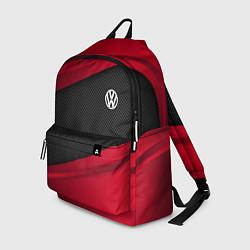 Рюкзак Volkswagen: Red Sport цвета 3D — фото 1