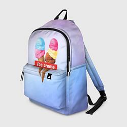 Рюкзак Ice Creme цвета 3D-принт — фото 1
