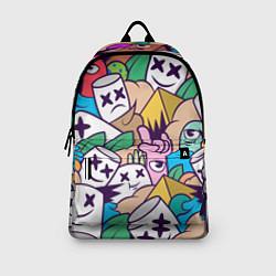 Рюкзак Marshmallow Colour цвета 3D-принт — фото 2