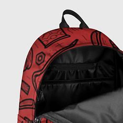 Рюкзак Инструменты мужика цвета 3D-принт — фото 2