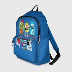 Рюкзак Cool Dudes цвета 3D-принт — фото 1