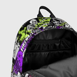 Рюкзак Watch Dogs: Pattern цвета 3D — фото 2