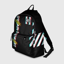 Рюкзак Off-White: Black Glitch цвета 3D — фото 1