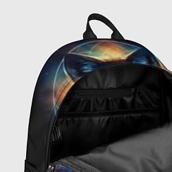 Рюкзак Волк затмения цвета 3D-принт — фото 2