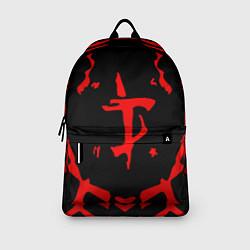 Рюкзак DOOM: Red Slayer цвета 3D-принт — фото 2