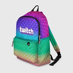 Рюкзак Rainbow Twitch цвета 3D-принт — фото 1