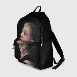 Рюкзак Lil Peep: Dark Angel цвета 3D — фото 1