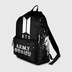 Рюкзак BTS ARMY цвета 3D-принт — фото 1