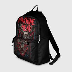 Рюкзак Machine Head: Blooded Skull цвета 3D-принт — фото 1
