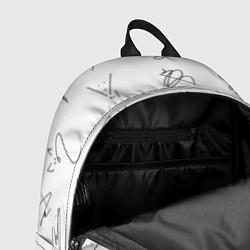 Рюкзак STRAY KIDS АВТОГРАФЫ цвета 3D — фото 2