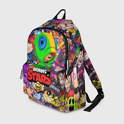 Городской рюкзак с принтом BRAWL STARS LEON, цвет: 3D, артикул: 10200432505601 — фото 1